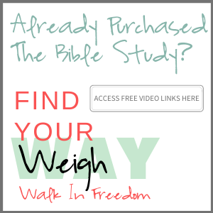 Access To Video Links - Find Your Weigh: Walk In Freedom Bible Study Guide