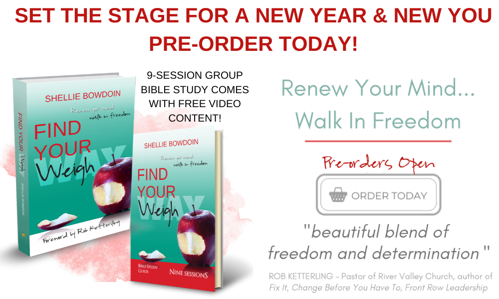 Pre- Order Find Your Weigh Today!