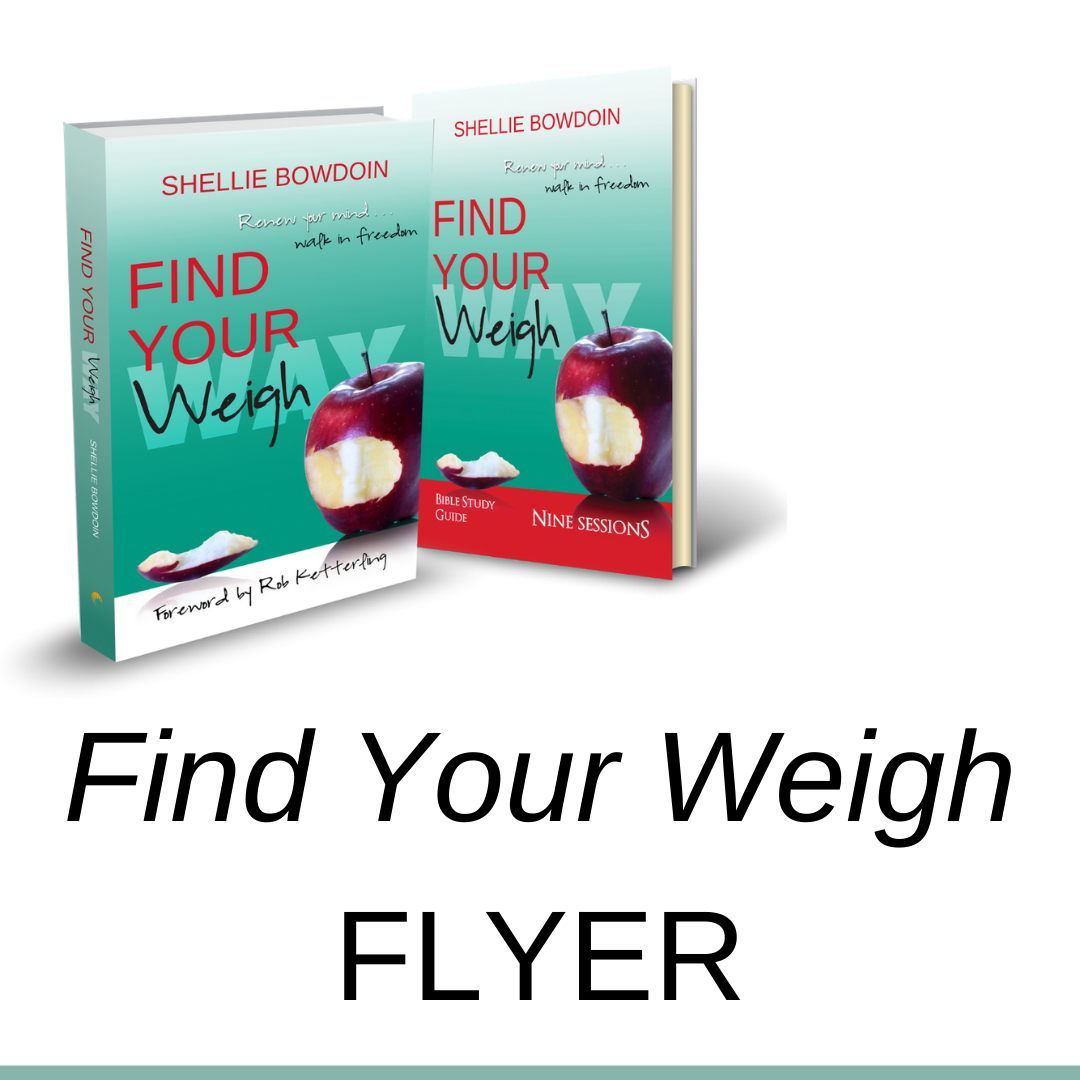 Find Your Weigh Flyer