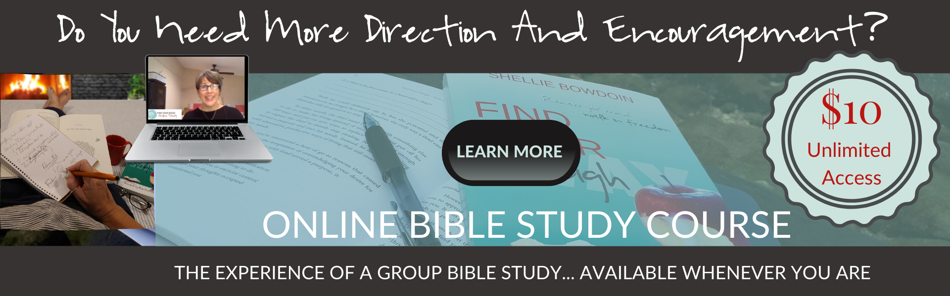 Find Your Weigh Online Bible Study Course - $10